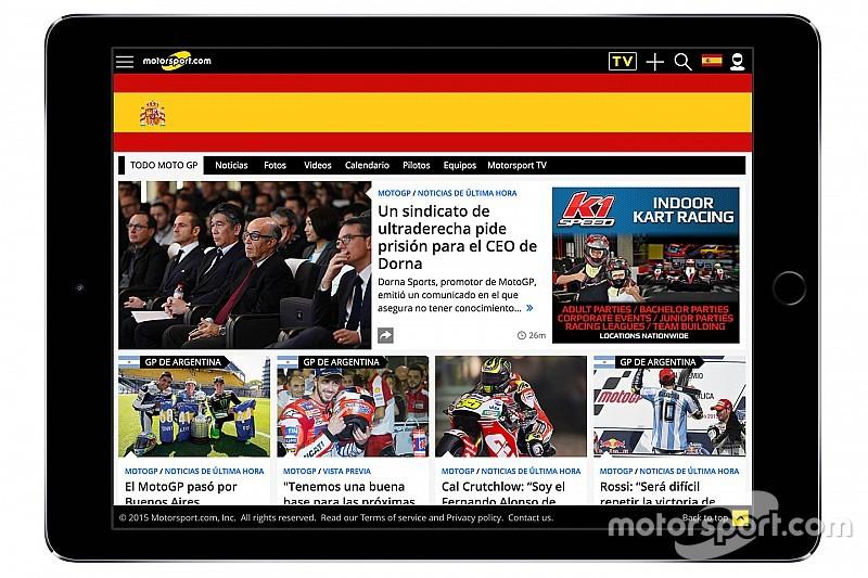 Através de aquisição, Motorsport.com lança plataforma digital na Espanha