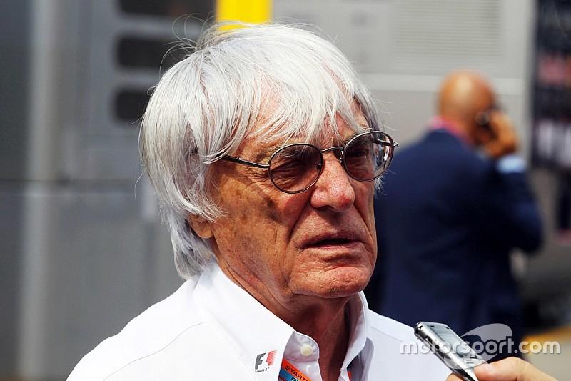 """Ecclestone insiste em """"tempo extra"""" para embaralhar grid"""