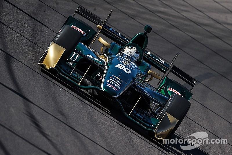 Turbulentes IndyCar-Comeback in Phoenix: Ed Carpenter mit erster Bestzeit