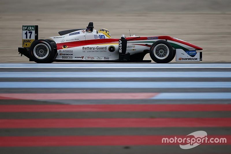 Paul Ricard F3: Gunther completa el hattrick de Prema con la doble pole