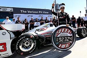 IndyCar Reporte de calificación Helio Castroneves con pole position y récord en Phoenix