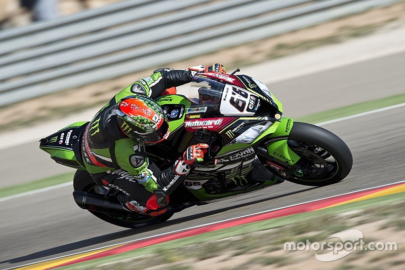Aragon WSBK: Sykes on pole, Yamahas complete front row