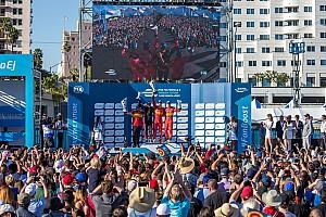 电动方程式 比赛报告 长滩ePrix:迪格拉西赢乱战,对手麻烦不断