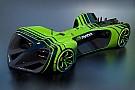 Roborace Roborace revela tamanho dos carros para estreia da categoria