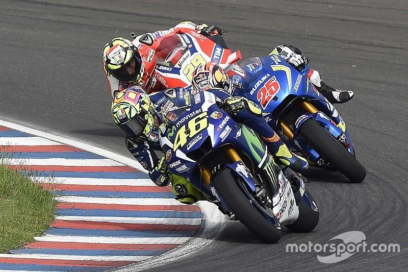 "Rossi: ""Este año no soy tan fuerte a final de carrera"""