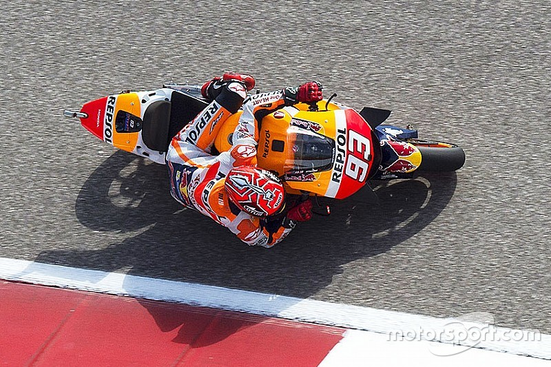 Austin, Libere 4: Marquez è un martello. Yamaha a mezzo secondo