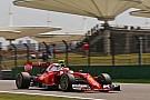 Raikkonen lidera un doblete de Ferrari en los segundos libres