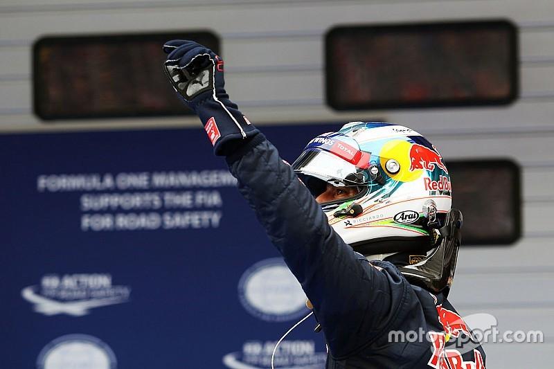 """Ricciardo: """"Prima fila inaspettata! Domani provo a battere le Rosse"""""""