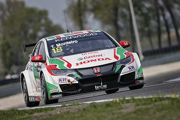 WTCC WTCC Slovakiaring: Tiago Monteiro und Honda trumpfen auf