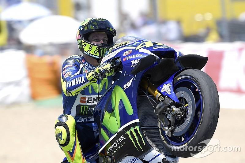 Analyse: Hoe Rossi's behendigheid met de gashendel de zege opleverde