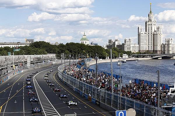 Formel E Formel E vor Absage des Stadtrennens in Moskau