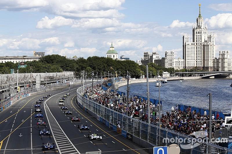 Formel E vor Absage des Stadtrennens in Moskau