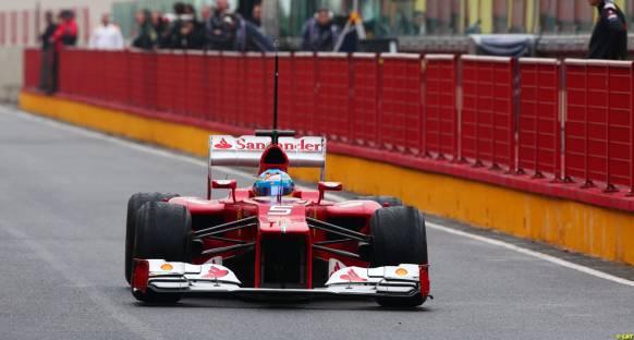 Fernando Alonso, Mugello'da ilk seansın lideri