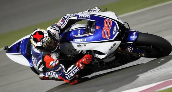 MotoGP Katar'da zirvenin adı Yamaha ve Jorge Lorenzo