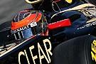 Grosjean, Lotus'un formuna güveniyor