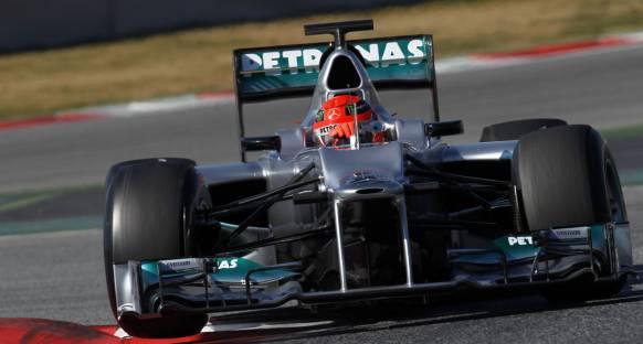 Schumacher: Lastik aşınması endişe edilecek seviyede değil