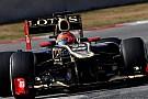Grosjean aracın yarış simülasyonundaki performansından memnun