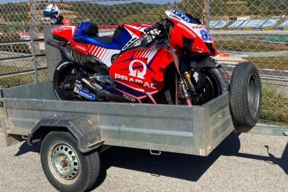 MotoGP in Portimao FT3: Schwerer Sturz von Jorge Martin, Bestzeit für Quartararo