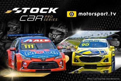 Stock Car Pro Series kommt weltweit live bei Motorsport.tv