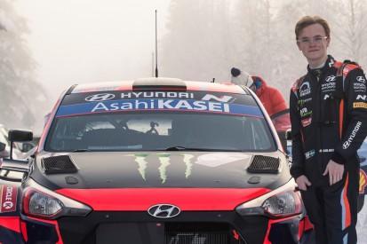 Rallye Italien: Oliver Solberg wieder im Hyundai i20 Coupe WRC