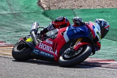 Honda meidet die Konkurrenz: Bautista und Haslam testen alleine in Aragon