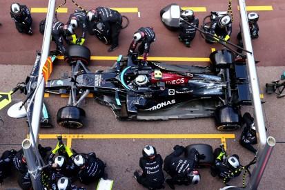 Rekord durch Mercedes in Monaco: Bisher längster Formel-1-Boxenstopp!