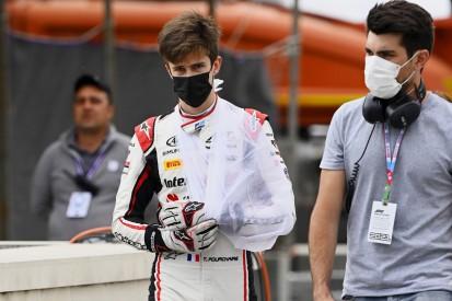Formel-2-Crash in Baku: Pourchaire mit Fraktur, Ticktum stinksauer