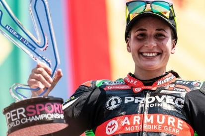 Ana Carrasco gewinnt in Misano: Erster Supersport-300-Sieg nach Wirbelbrüchen