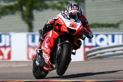 MotoGP Sachsenring: Zarco-Pole trotz Sturz - Aprilia erstmals in Reihe eins