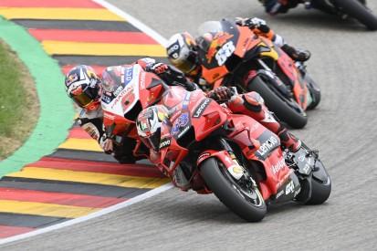 Kein Podium: Reifenprobleme bremsen Ducati auf dem Sachsenring aus