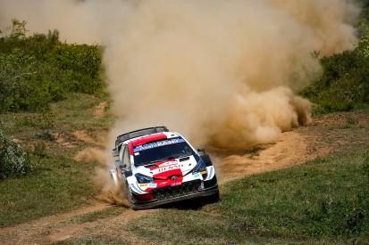 WRC Safari-Rallye Kenia 2021: Toyota-Dreifachführung nach WP1