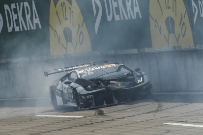 Hawkey-Unfall in Turn 1 am Lausitzring: T3 setzt Lambo aus ADAC GT Masters ein