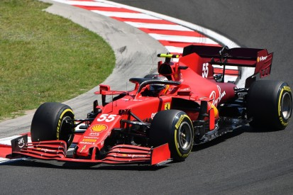 Letzter Wechsel ohne Strafe: Carlos Sainz mit drittem Ferrari-Motor in Ungarn