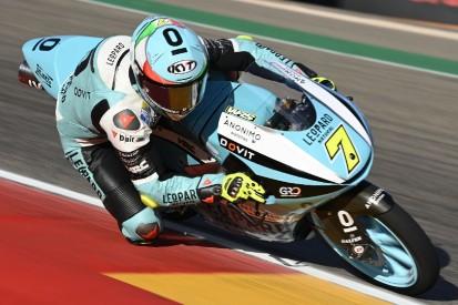 Moto3-Rennen Aragon: Foggia besiegt Öncü - WM-Titelrivalen stürzen