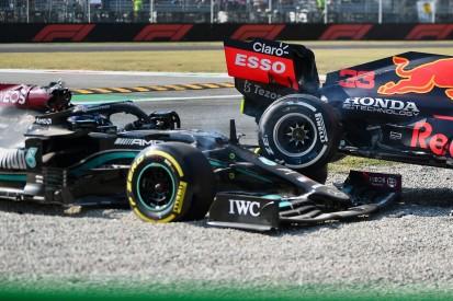 Neues Video: Nasenkamera filmte Hamilton-Cockpit bei Crash mit Verstappen