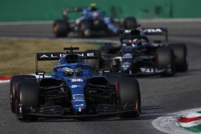 Fernando Alonso: AlphaTauri und Aston Martin schneller als Alpine