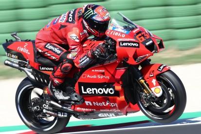 MotoGP-Qualifying Misano: Back-to-Back-Pole für Bagnaia - Rossi nach Sturz 23.