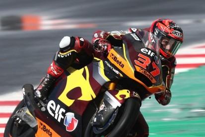 Moto2 Misano 2: Bestzeit für Augusto Fernandez - viele Stürze im Nassen