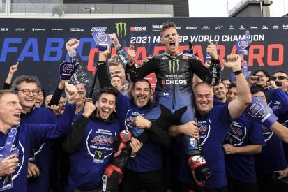 """""""Gerechtigkeit"""": Lin Jarvis vergleicht Yamahas MotoGP-Titel 2015 und 2021"""