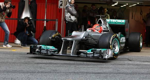 Schumacher: Yeni aracın potansiyeli var