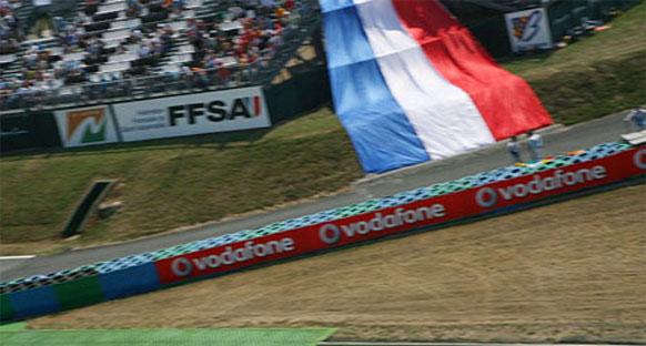 'Fransa GP 2013'de takvime dönüyor'