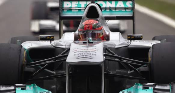 2011'in geçiş kralı Schumacher
