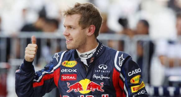 Duygu yüklü Vettel'den takımına teşekkürler