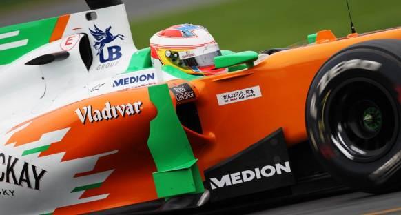Di Resta: Biraz şansla Renault'yu geçeriz
