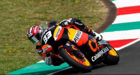 Moto2 Aragon Gp'sine Marcquez polden başlayacak