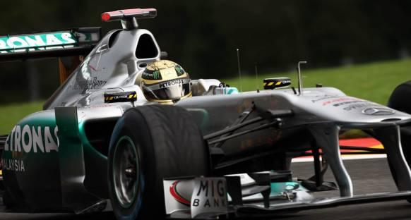 Belçika Grand Prix Cuma 1. antrenmanlar - Schumi lider