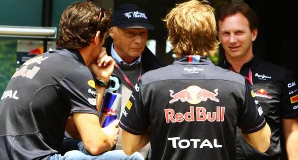 Horner'den Vettel'e: Kapa çeneni ve işini yap