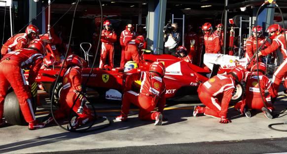 Ferrari: Pit stoplar hala mükemmel değil