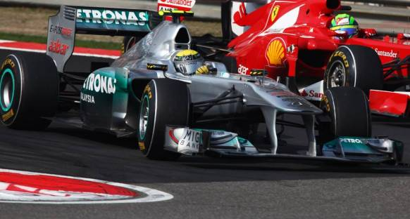 Rosberg podyumu kaçırdığı için üzgün