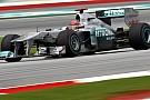 Mercedes sıralama turlarında drs sorunu yaşadı